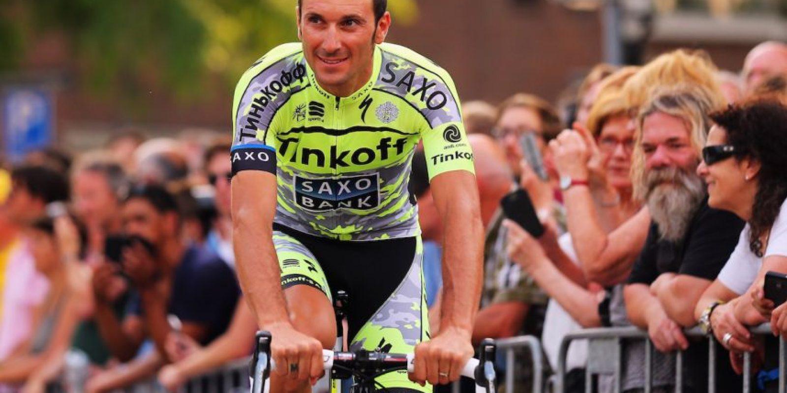 Este ciclista italiano se retiró de la competencia en pleno Tour de Francia 2015 pues le detectaron cáncer en los testículos. Fue operado de manera urgente y aunque en septiembre sus médicos aseguraron que no quedaban rastros de este mal en su cuerpo, se retiró del ciclismo para completar su recuperación. Foto:Getty Images