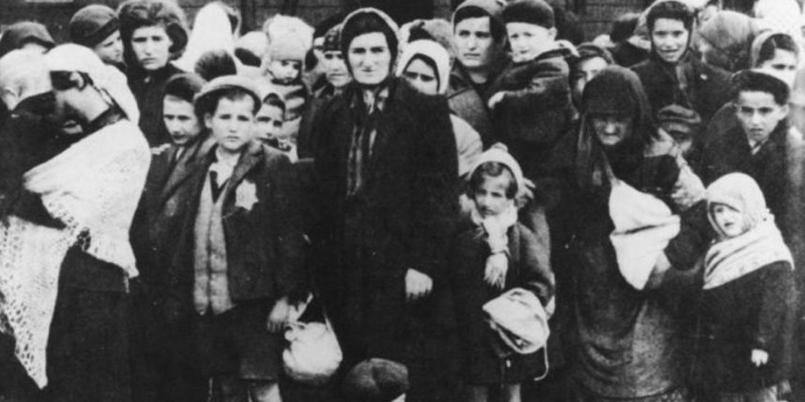 Muchos murieron en los campos de concentración. Foto:vía Getty Images