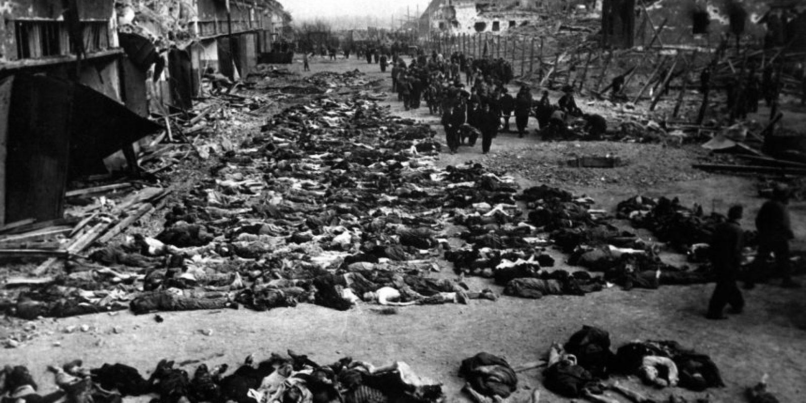 El Holocausto Nazi dejó 11 millones de muertos, entre ellos 6 millones de judíos. Foto:vía Getty Images