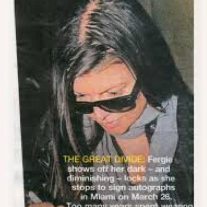 Así se le vio firmando una vez autógrafos. Foto:vía Fanpop