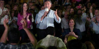 El jefe de gobierno de la ciudad de Buenos Aires Mauricio Macri, de la alianza Cambiemos. Foto:AFP