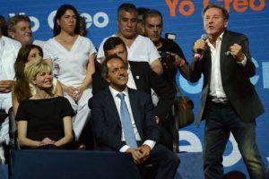 Daniel Scioli, quien es el candidato del partido de la presidenta Cristina Fernández de Kirchner, Frente para la Victoria Foto:AFP