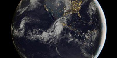 """A """"Patricia"""" le tomo menos de 10 horas convertirse de una tormenta a un peligrosos huracán. Foto:AFP"""