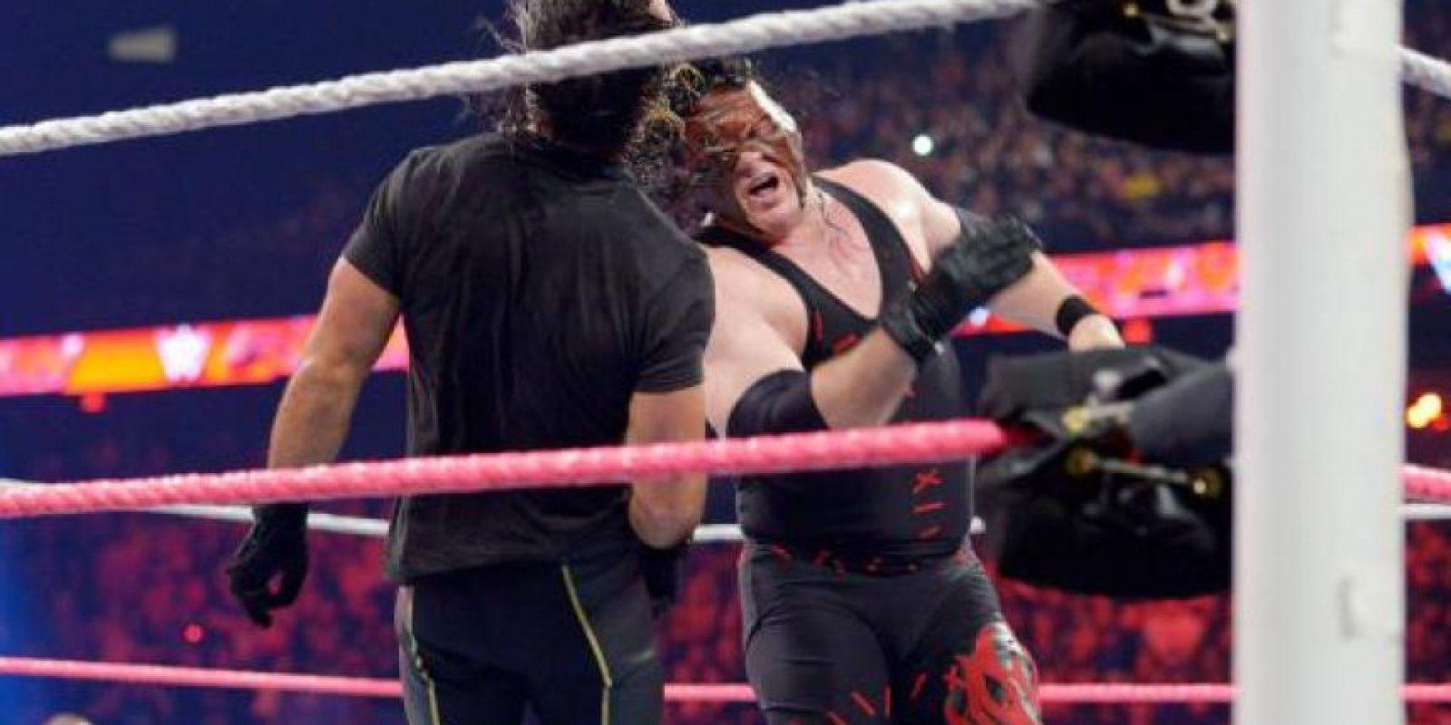 Pondrá su título en juego ante el Demonio Kane Foto:WWE