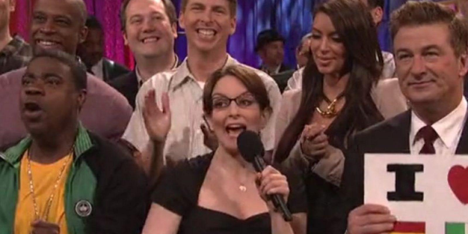 """En 2012, fue invitada del show de comedia """"30 Rock"""". Foto:vía YouTube"""