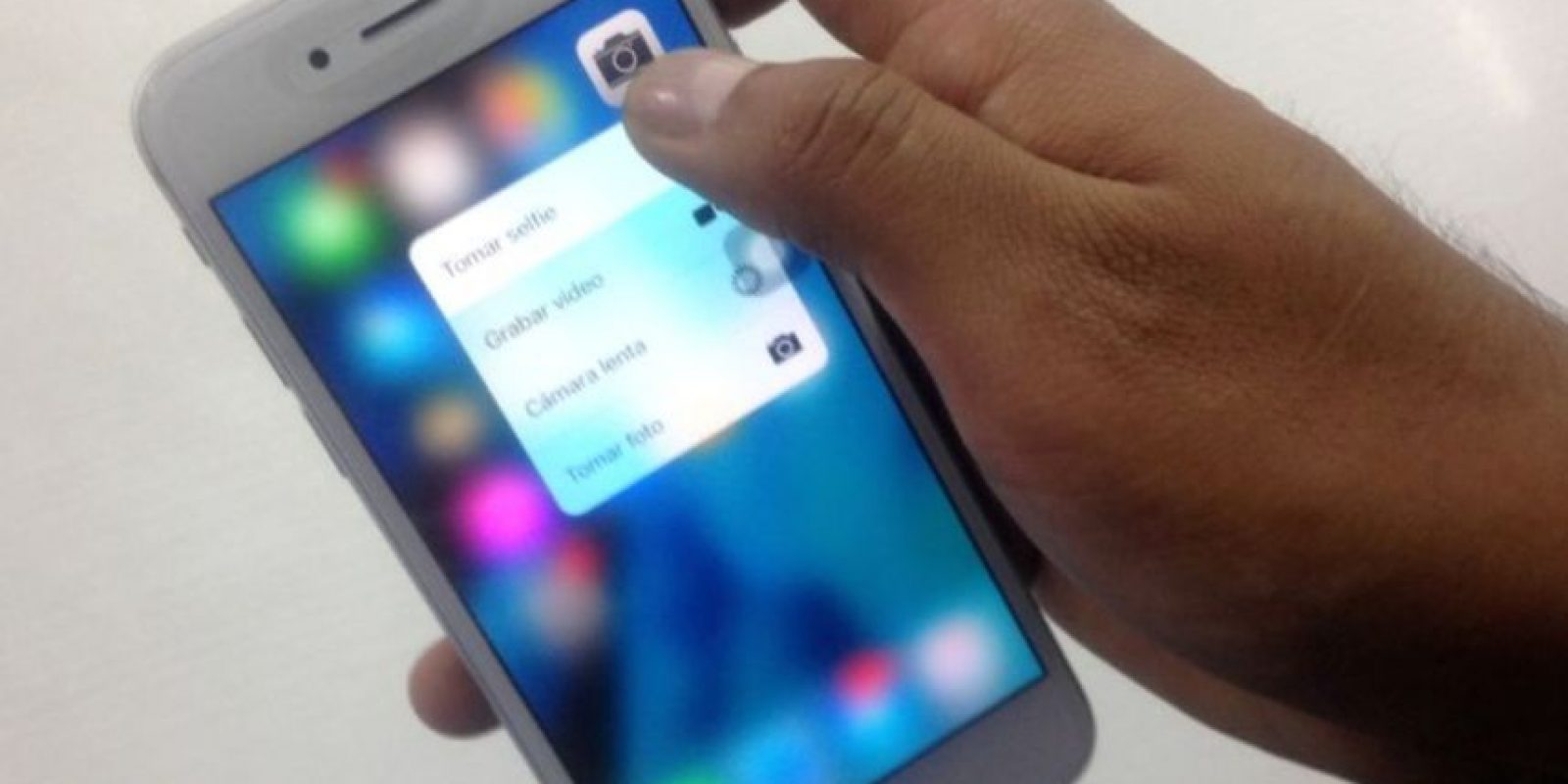"""En seguida les mostramos algunas apps compatibles con """"3D Touch"""". Foto:Nicolás Corte / Especial"""