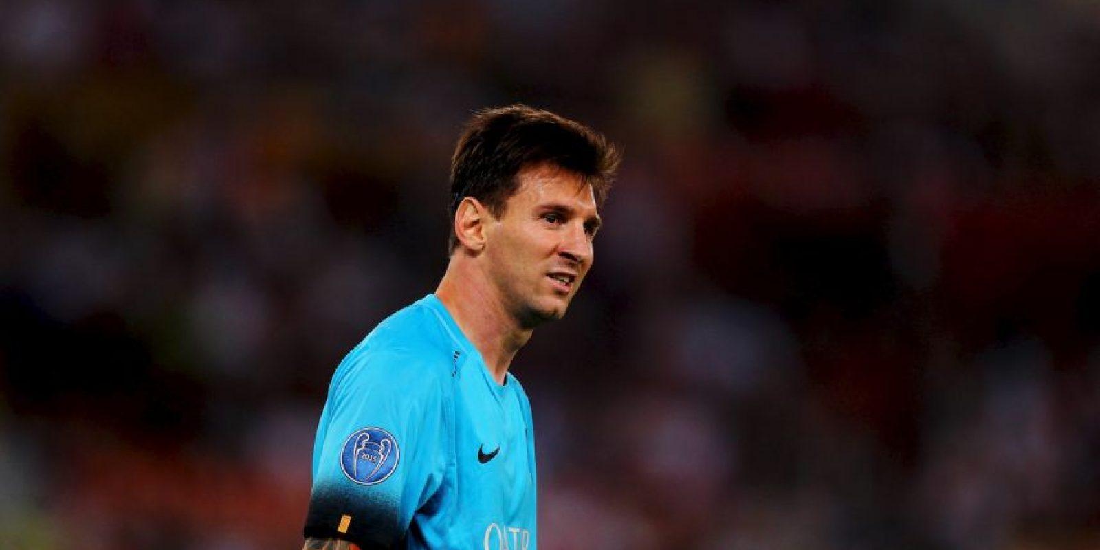 Pero Messi aseguró que en este momento no se ve jugando en otro lugar Foto:Getty Images