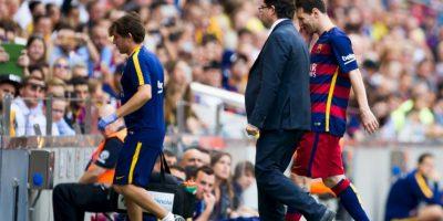 """""""Yo vivo el momento y en este momento estoy con el Barcelona en la Liga española, donde he hecho mi vida y donde yo vivo muy bien"""", indicó en una entrevista con """"Yahoo"""" Foto:Getty Images"""