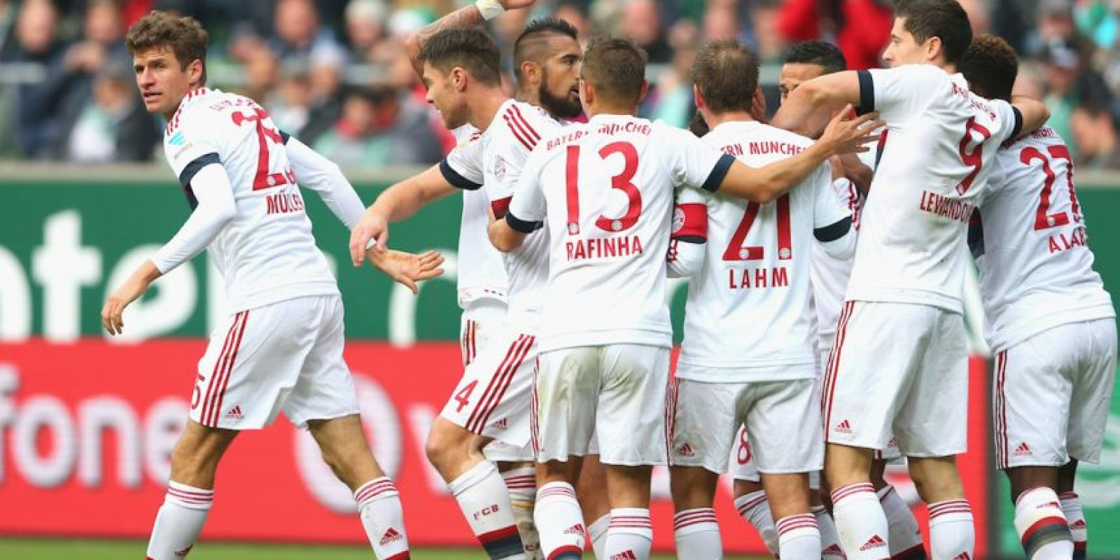 BUNDESLIGA: Bayern Munich (1) vs. Colonia (6) en Allianz Arena Foto: Getty Images