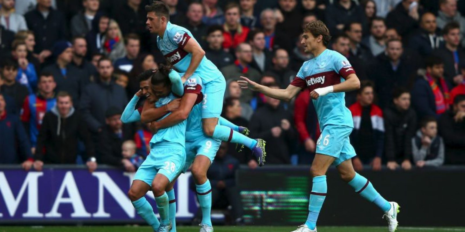 PREMIER LEAGUE: West Ham (4) vs. Chelsea (12) en Boleyn Ground Foto: Getty Images