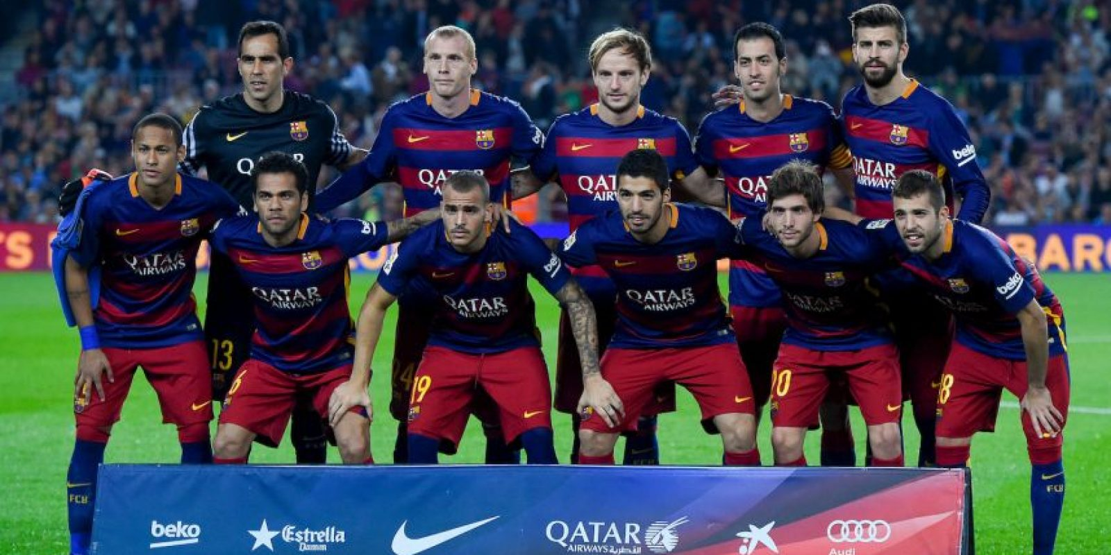 LIGA BBVA: Barcelona (3) vs. Eibar (5) en el Camp Nou Foto: Getty Images