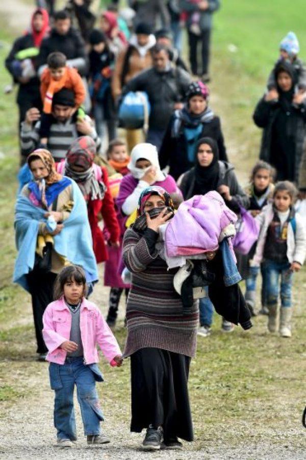 En septiembre, después de numerosas reuniones, los países de la Unión Europea acordaron recibir a 160 mil personas. Foto:Getty Images