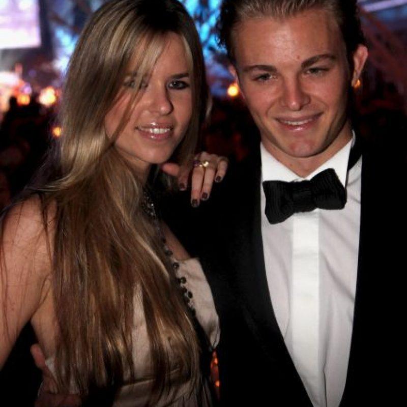 3. Vivian Sibold, novia de Nico Rosberg (Mercedes) Foto:Getty Images