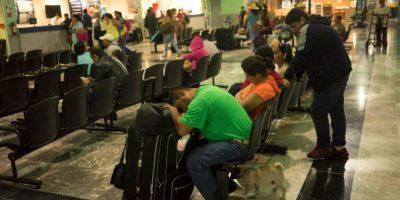Se suspendieron los vuelos en aeropuertos cercanos Foto:AP