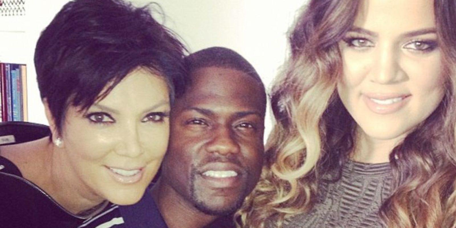 """Kris Jenner y Khloé Kardashian compartieron créditos con Kenvin Hart en """"Real Husbands of Hollywood"""". Foto:vía instagram.com/kevinhart"""