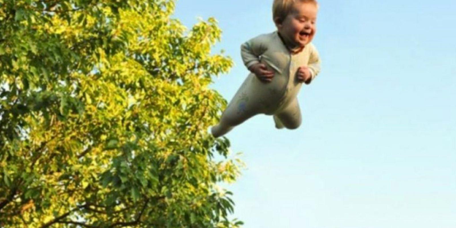 Alan Lawrence, creo un blog con el que quiso presumir a la gente la condición de su hijo Wil y lo importante que es para su vida. Foto:Vía thatdadblog.com
