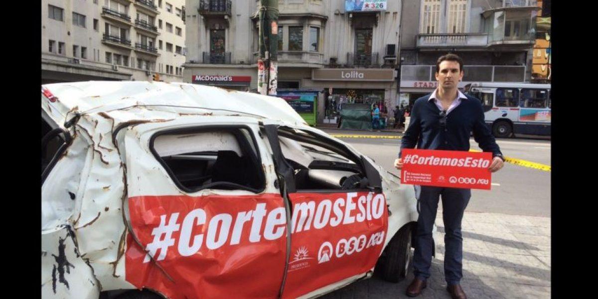 Uruguay lanza impactante campaña para prevenir accidentes de tránsito