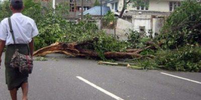 Ciclón Nargis (2008). Arrasó con Birmania matando a 138 mil personas. Los daños se estimaron en 10 billones de dólares. Foto:Vía Wikimedia Commons
