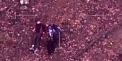 Este oficial encontró a un niño autista que desapareció por cinco días en Australia. Foto:ía Twitter @VictoriaPolice