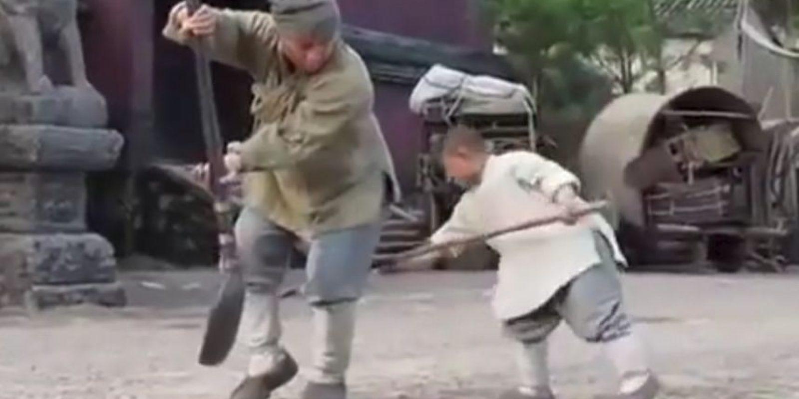 La técnica de Kung Fu Shaolin es una forma antigua de ejercicio de artes marciales. Foto:Vía Youtube/JackieChanFanClubIndia