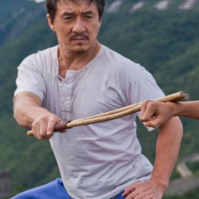 """Usando el kung fu sólo como una forma de autodefensa, informó el sitio """"Livestrong"""" de España. Foto:Tumblr.com/tagged-jackie-chan"""