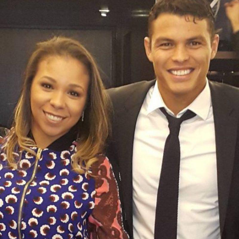 Tiene dos hojos con Thiago Silva Foto:Vía instagram.com/bella_silva