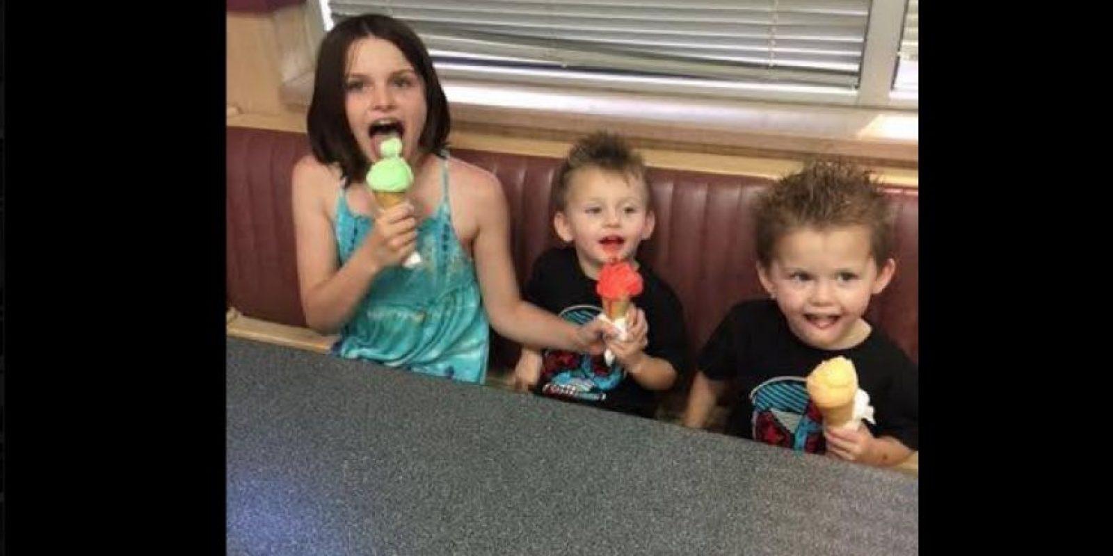 Ellos tienen apenas tres años. Foto:Vía facebook.com/taloa.foster