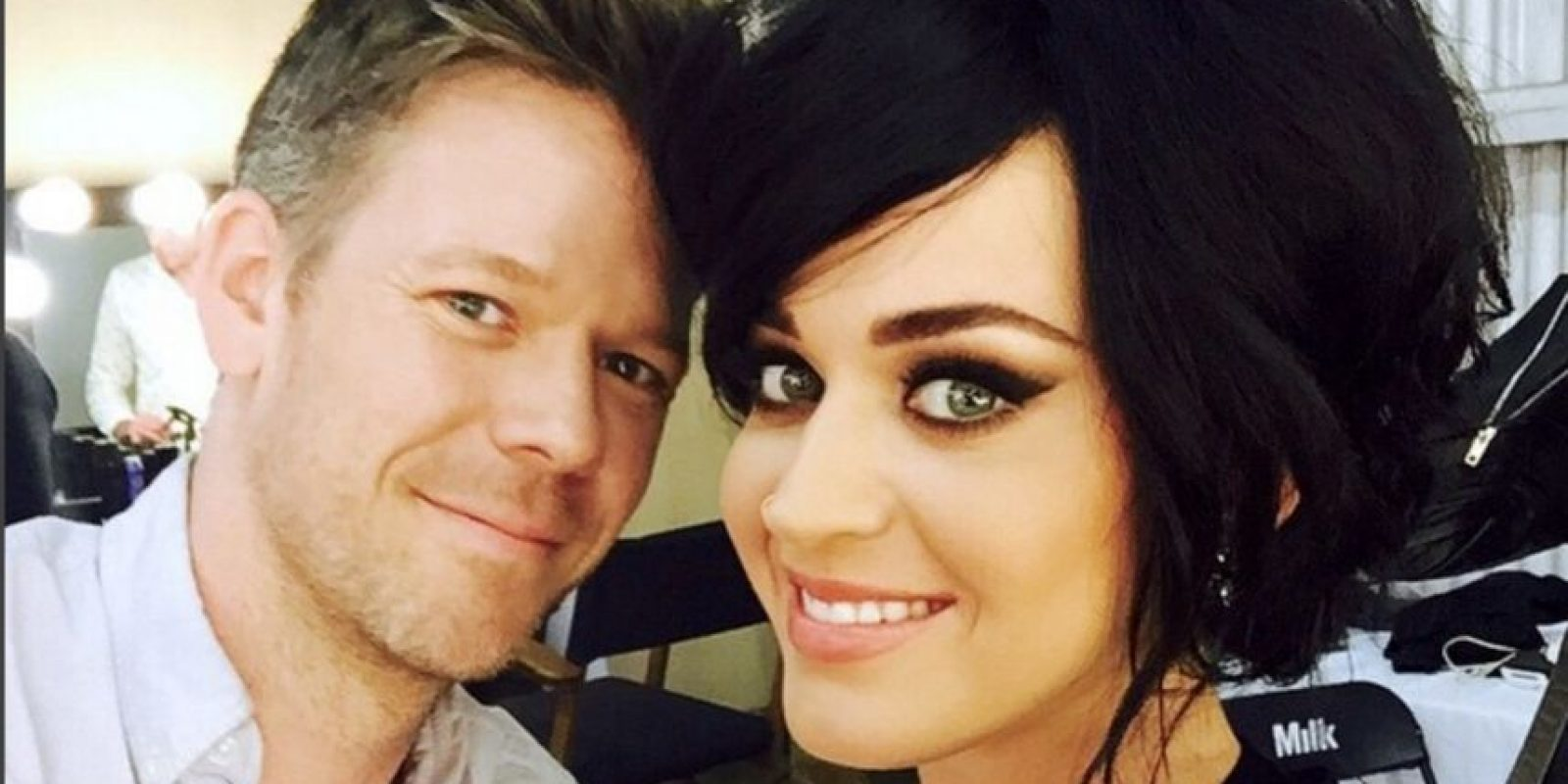 Con Katy Perry Foto:Vía instagram.com/byjakebailey/
