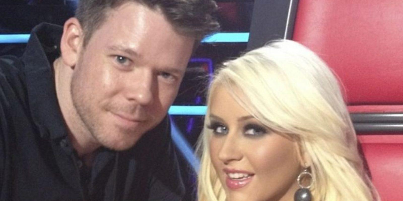Con Christina Aguilera Foto:Vía instagram.com/byjakebailey/