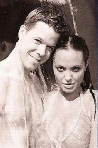 Con Angelina Jolie Foto:Vía instagram.com/byjakebailey/