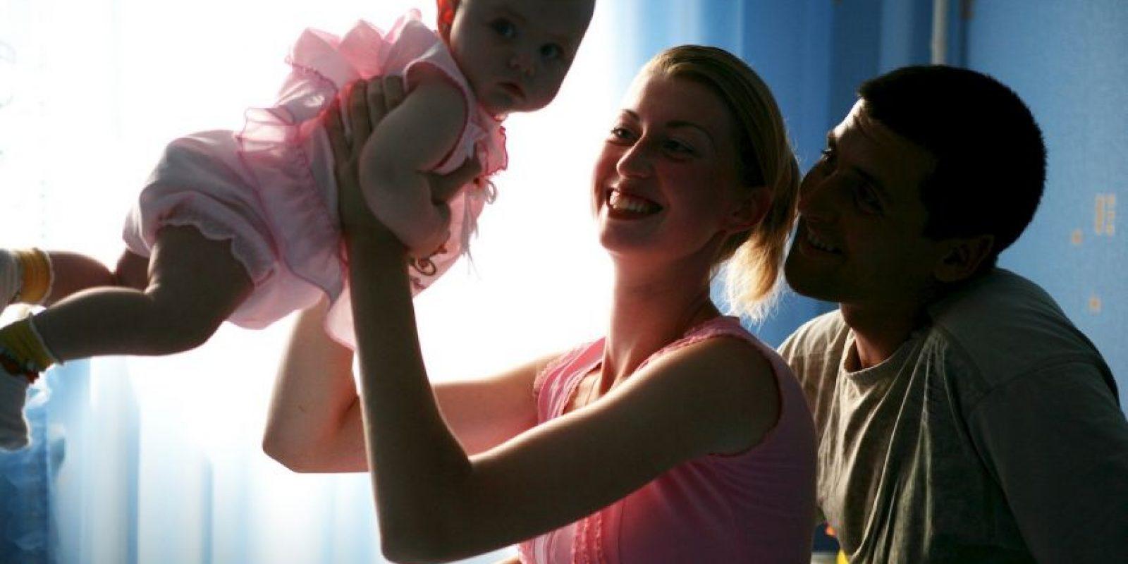 """""""Ella necesita una familia para pasar Navidad"""". Foto:Getty Images"""