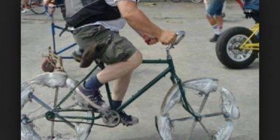 Momentos graciosos en la bici Foto:Tumblr