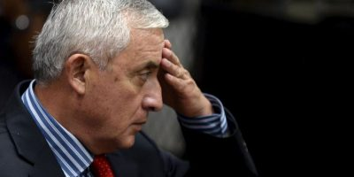 Fue el presidente número 48 de Guatemala. Foto:AFP