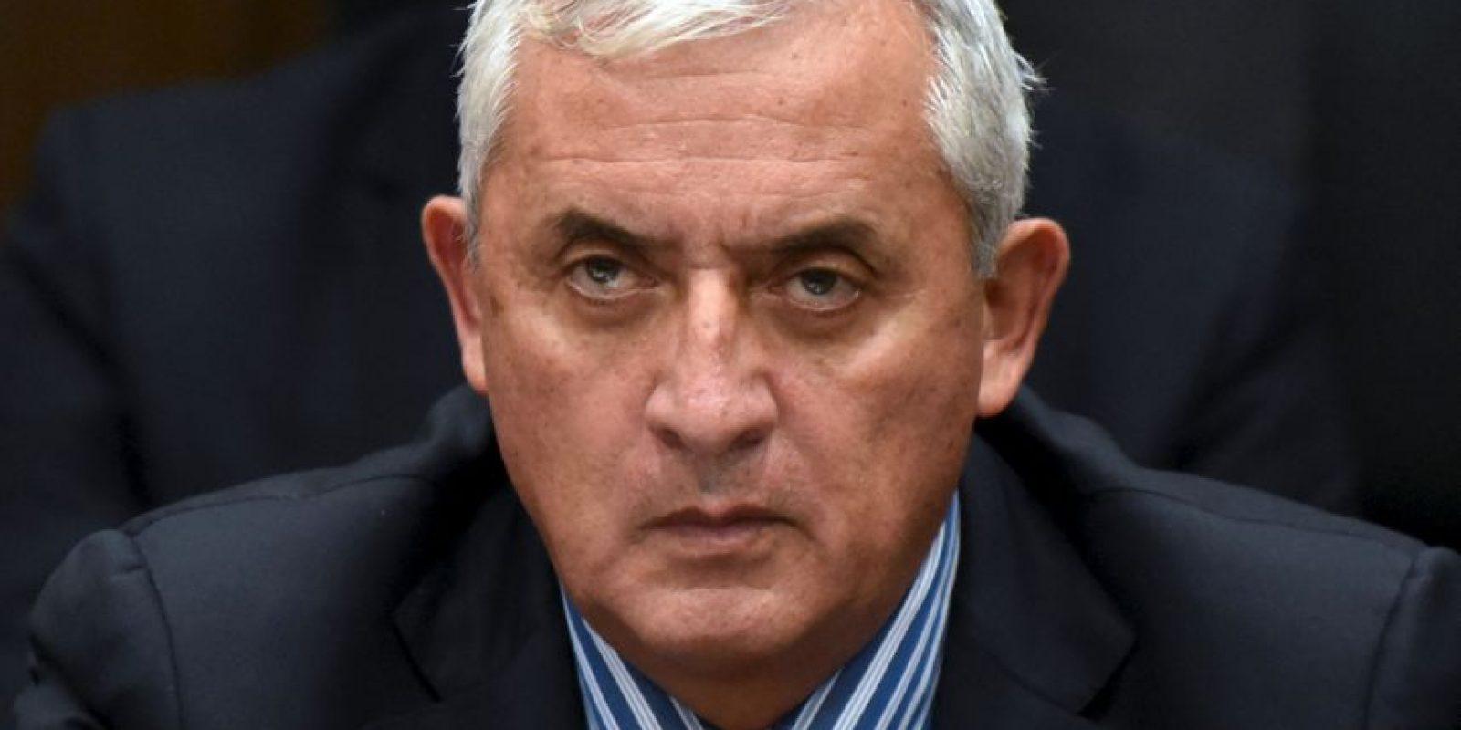 Otto Pérez, es expresidente de Guatemala. Foto:AFP