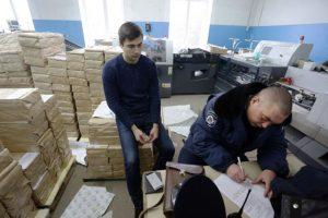 Bajo fuertes medidas de seguridad, celebraron elecciones locales para elegir alcaldes y concejales Foto:AFP