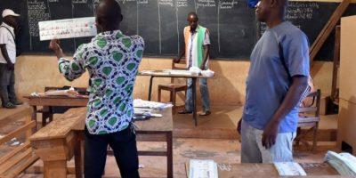 Se desplegaron en el país 34 mil soldados y seis mil soldados de Naciones Unidas para garantizar la seguridad en este proceso electoral Foto:AFP