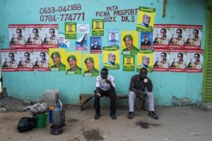 Se realizan las elecciones más apretadas en la historia del país Foto:AFP