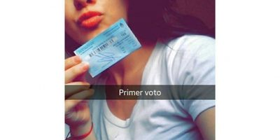 Otros con emoción. Foto:Vía instagram.com/explore/tags/elecciones2015/