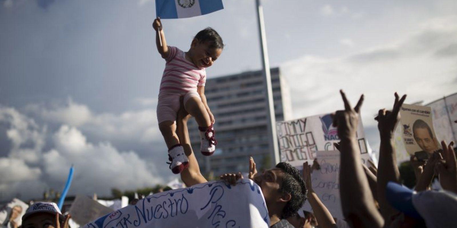 Este domingo Guatemala lleva acabo sus elecciones Foto:AP