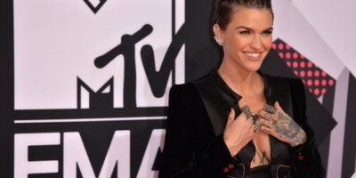 La coanfitriona Ruby Rose Foto: Getty Images