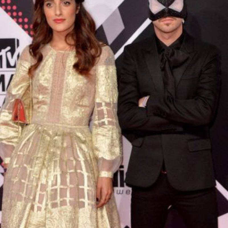 Bloody Beetroots y Levante Foto:Getty Images