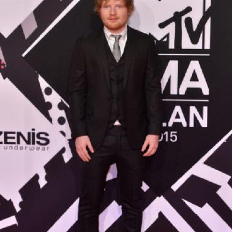 Mejor acto en vivo: Ed Sheeran Foto:Getty Images