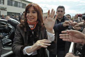 En la comunidad de Río Gallegos, votó la presidenta Cristina Fernández Foto:AFP