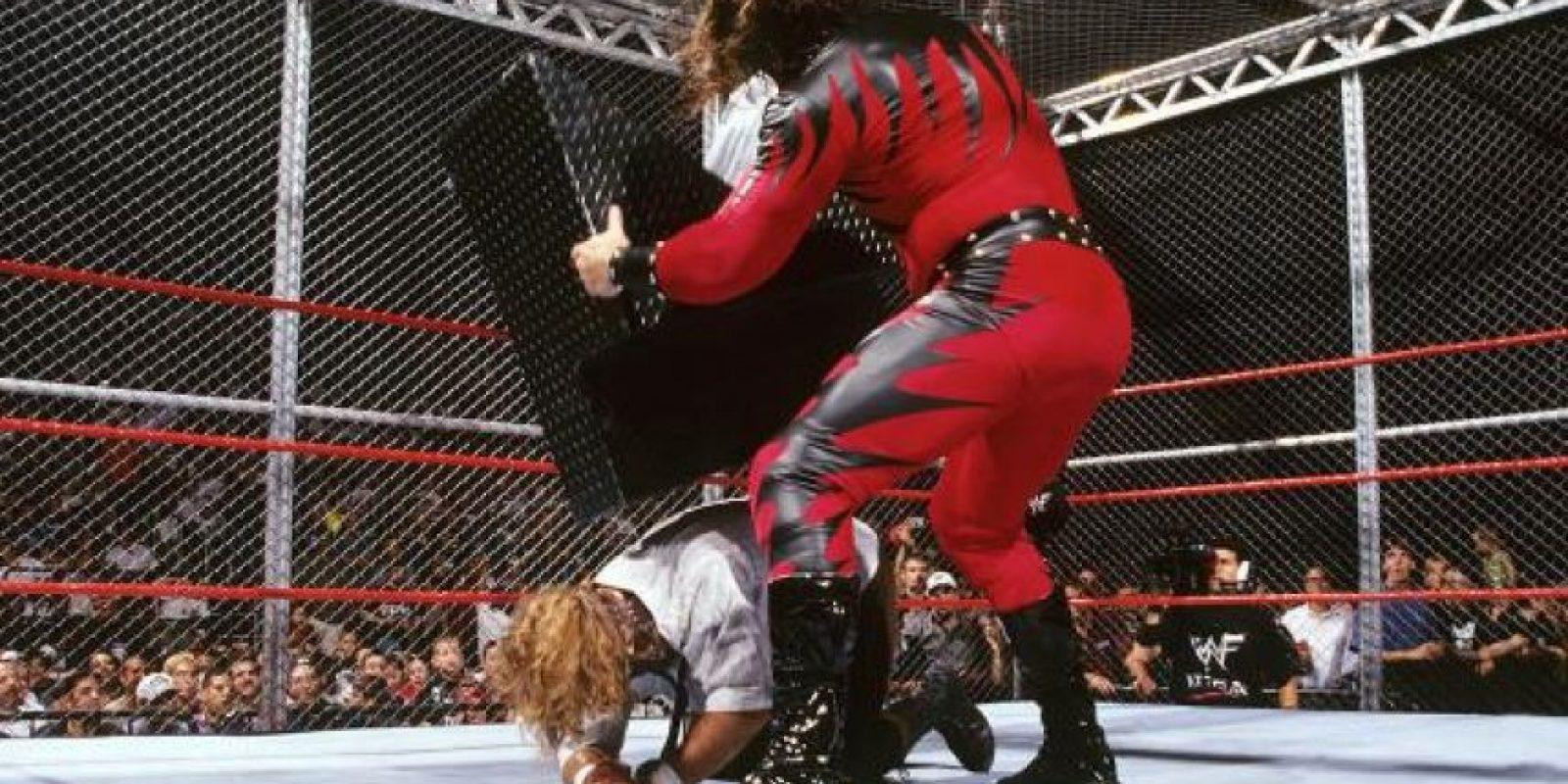 Mankind vs. Kane Foto:WWE