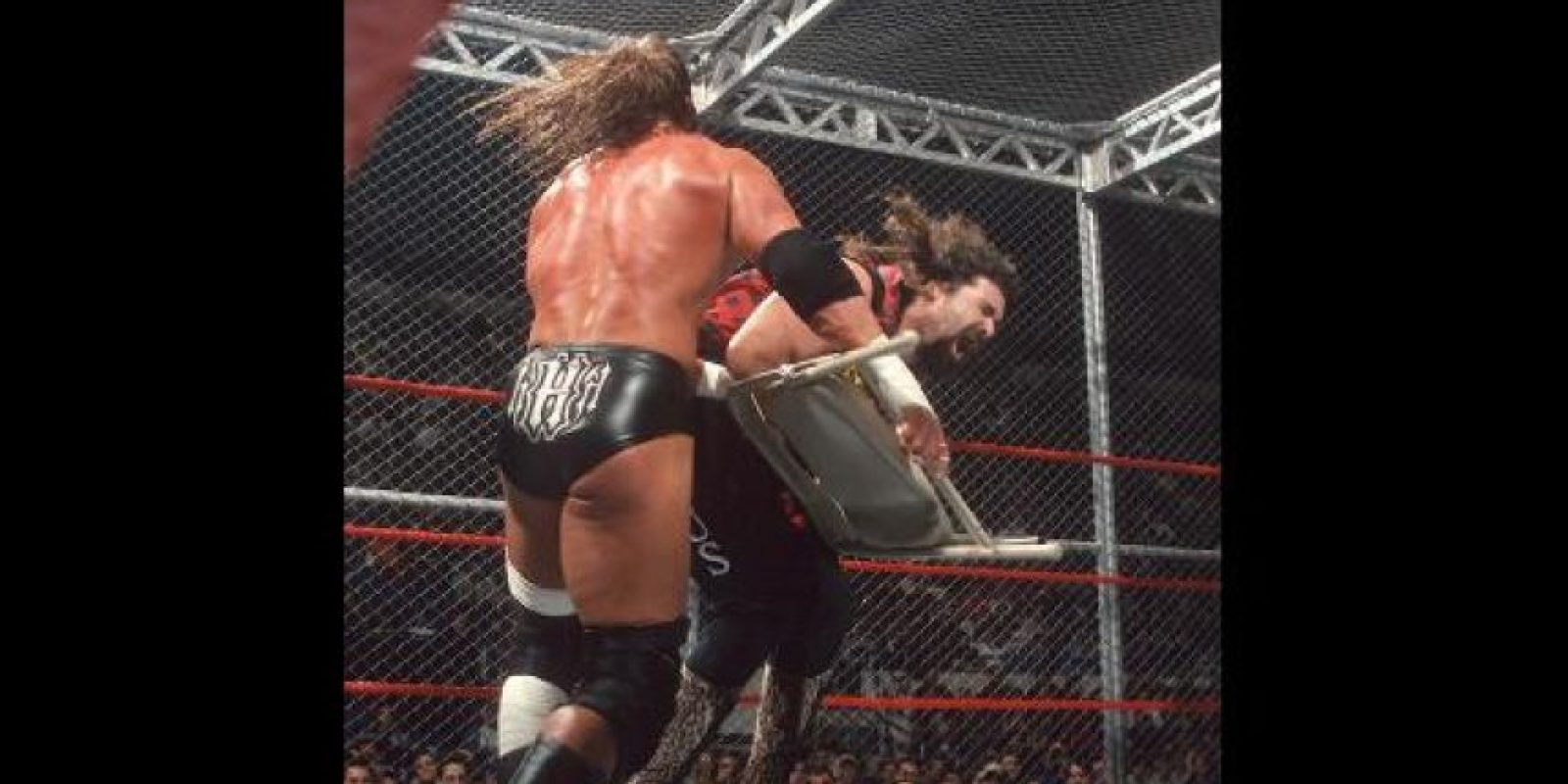 Triple H vs. Mick Foley Foto: WWE