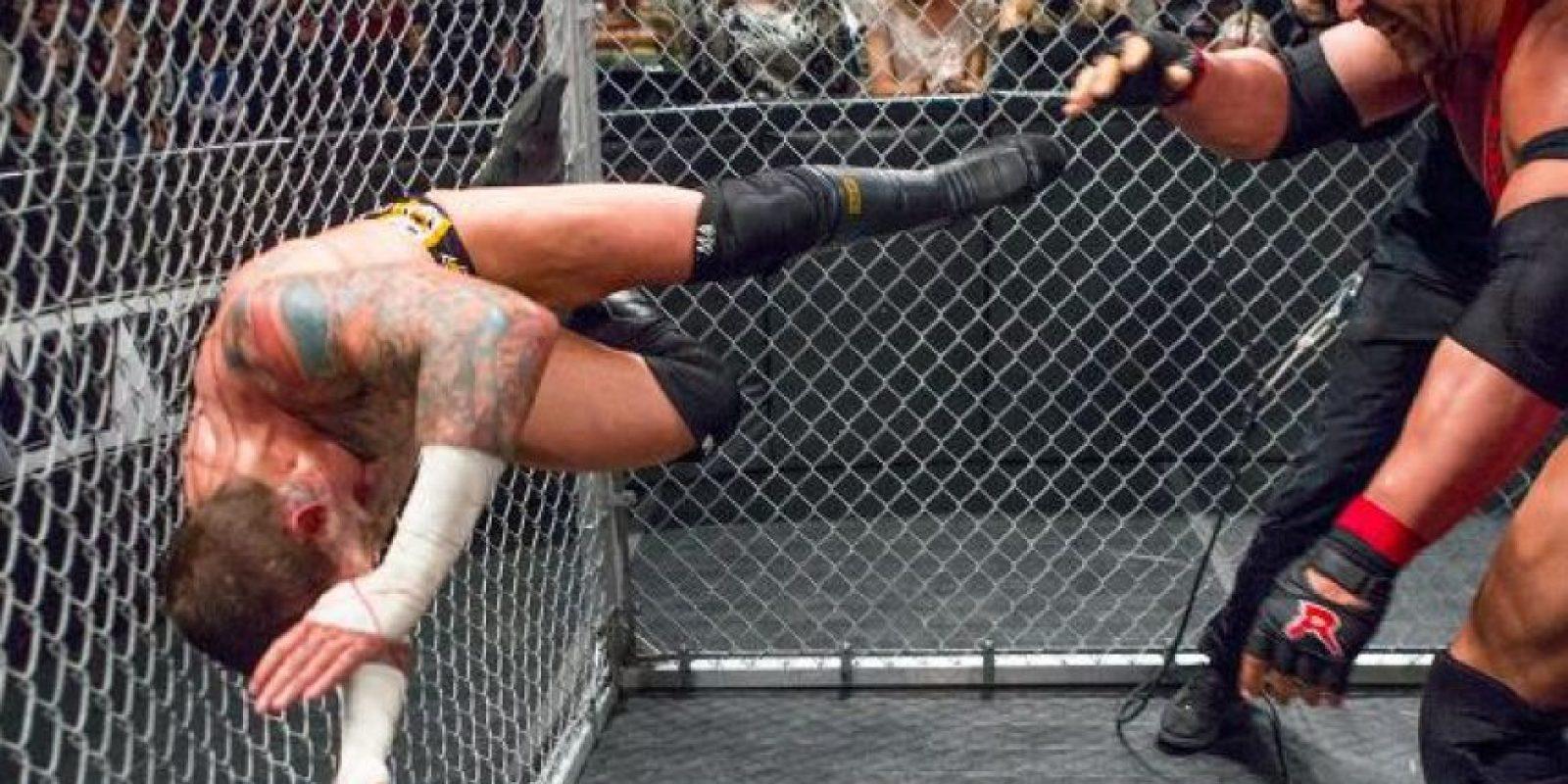 CM Punk y Ryback Foto:WWE