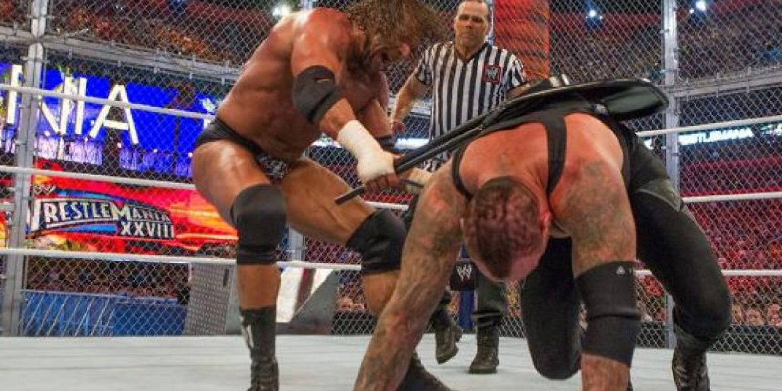 Triple H vs. Undertaker Foto: WWE