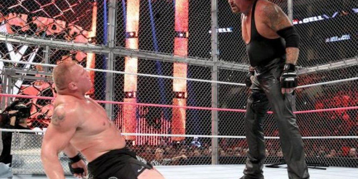 Las sangrientas consecuencias de la pelea entre Undertaker y Brock Lesnar