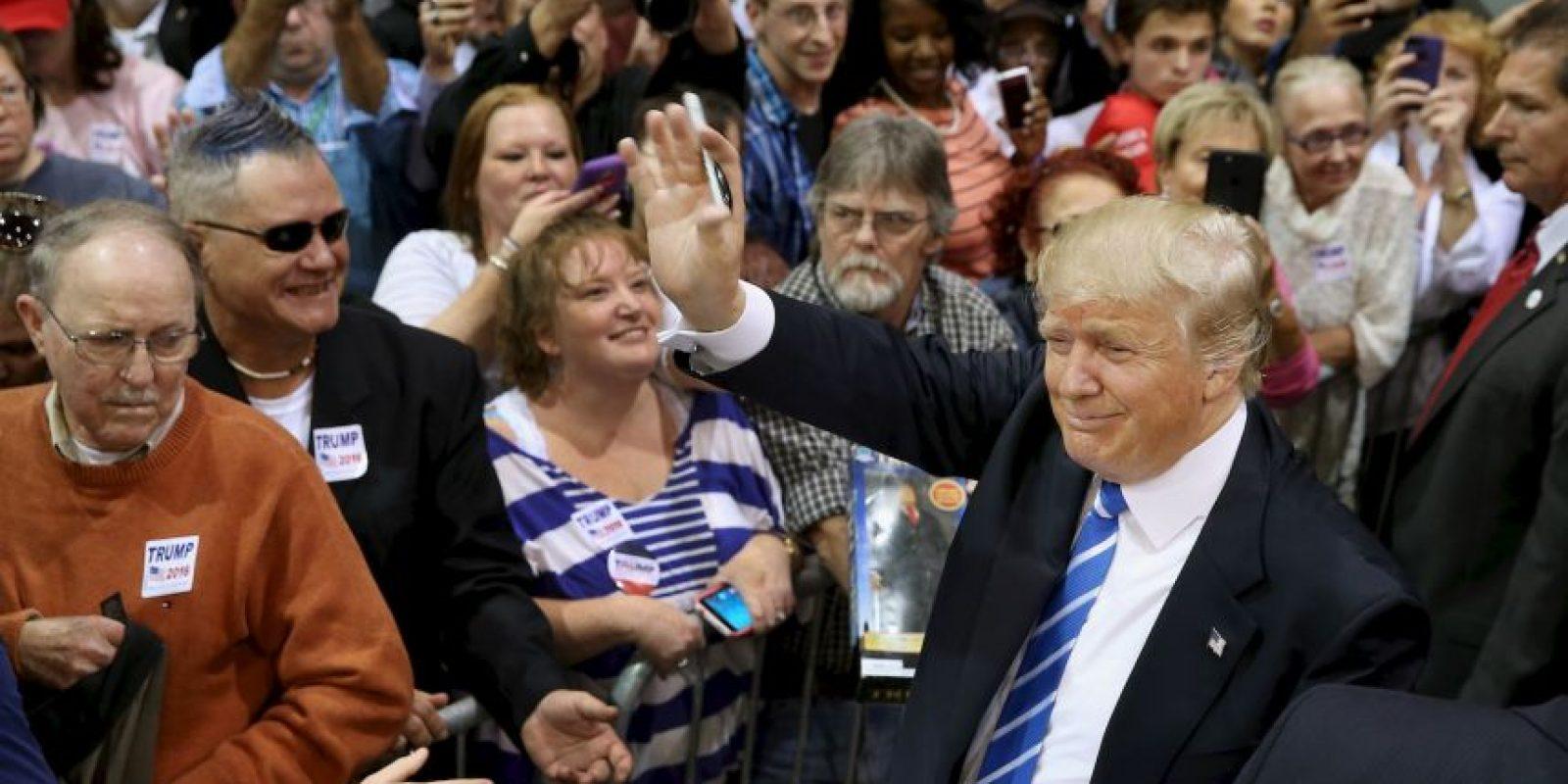 Desde siempre Trump ha defendido su imagen. Foto:Getty Images