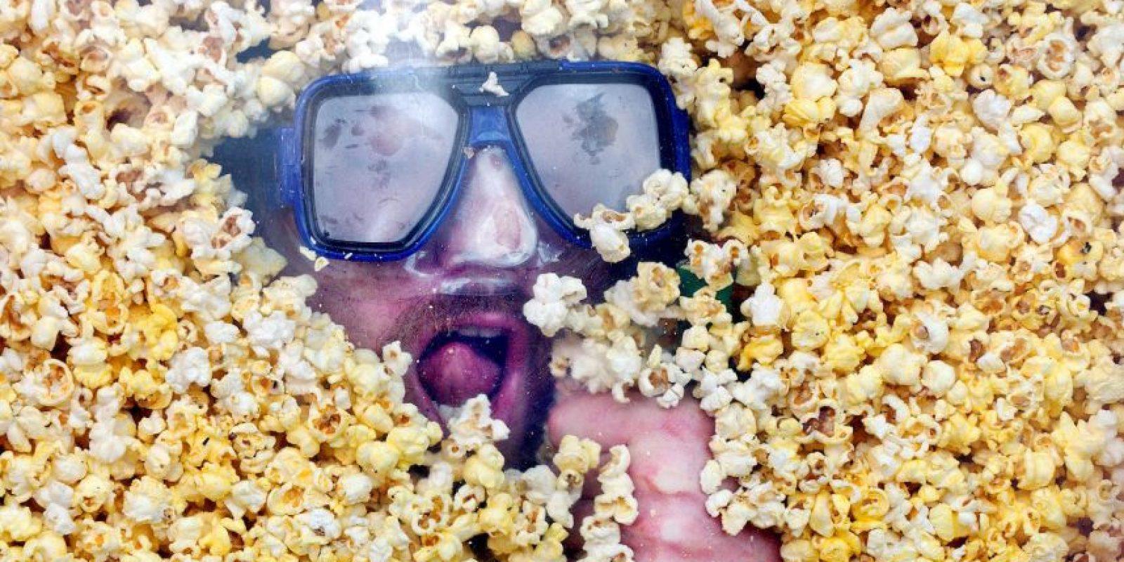 5. Las palomitas de maíz hecha en microondas Foto:Getty Images
